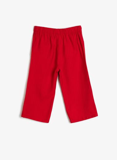 Koton Kids Pantolon Kırmızı